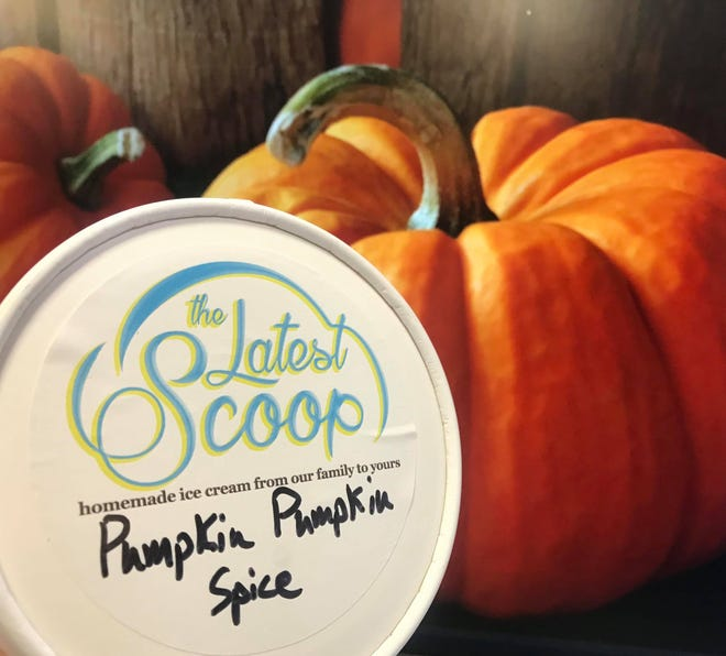 The Latest Scoop in San Angelo announced their newest flavor, 'Pumpkin Pumpkin Spice' ice cream, on Tuesday, Oct. 22.