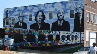 Paul Boyd III reflects on the rich history that inspired the mural.