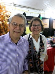 Drs. Anil and Neera Chhabra at W-K Fall Barbecue.