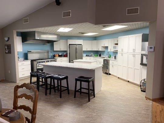 Kitchen at Hope Harbor, to open soon in Parker.