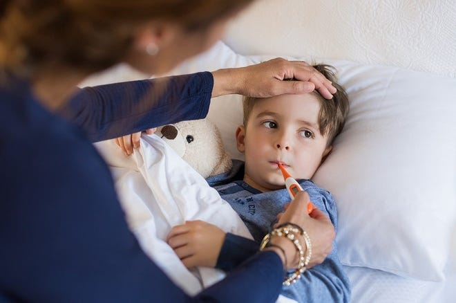 The flu is a contagious respiratory illness caused by influenza virus. The virus spreads through person-to-person contact and droplets made when infected people cough, sneeze or talk.