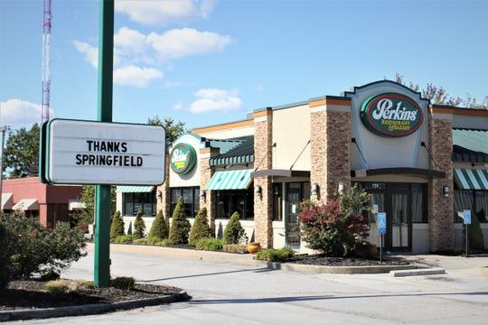 Perkins Restaurant & Bakery has closed in Springfield.