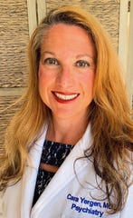 Dr. Cara Yergen, a board-certified psychiatrist, has joined the staff at the Mental Health Association in Indian River County.