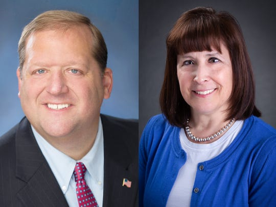 George Hoehmann and Nicole Doliner are running for Clarkstown town supervisor in the November 2019 election.