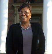 Judith Johnson when she was chosen as Peekskill's superintendent in 2001.