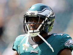 Eagles' Nelson Agholor explains his effort on missed deep ball with Carson Wentz