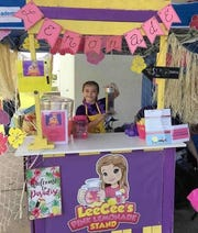 Aleese Haile, 9, of Iowa Park has received national recognition for her entrepreneurial skills developed at LeeCee's Pink Lemonade Stand. The Bradford Elementary School student has participated in Lemonade Day Wichita Falls for the last several years.