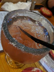 Cherry margarita at Don Jose Mexican Restaurant.