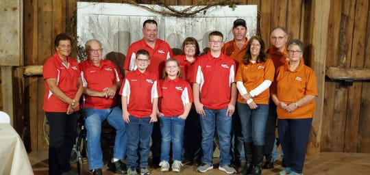 The Roehl family posed for a photo during media day on Oct. 21 for 2022 Wisconsin Farm Technology Days in Clark County.