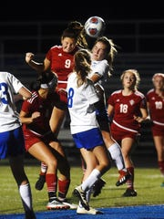 Rosecrans' 3-0 win against Cambridge on Monday night in a Division III district semifinal at the Maysville Athletic Complex.
