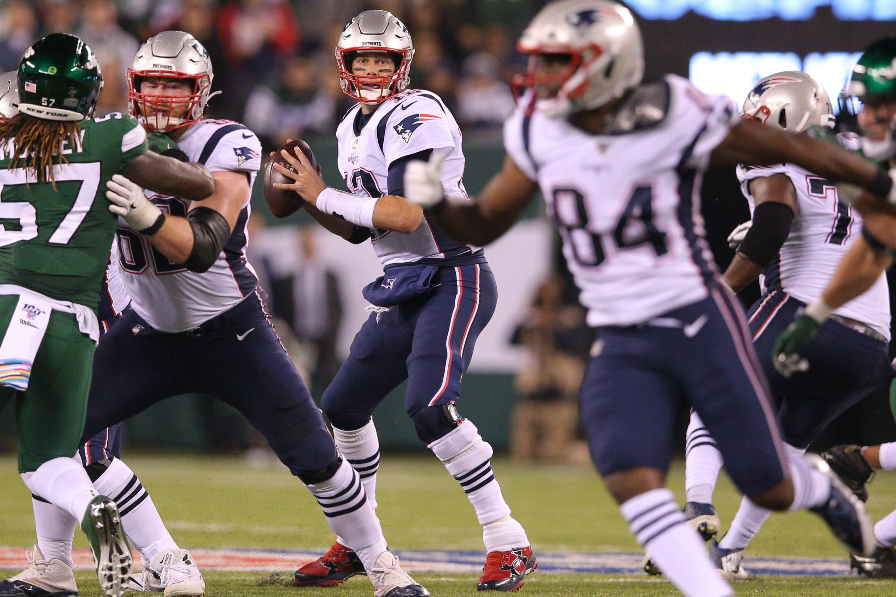 Sam Darnold turns ball over five times as New England Patriots shut out New York Jets