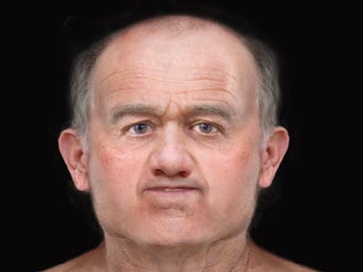 Medieval man's face reconstructed from 600-year-old skull