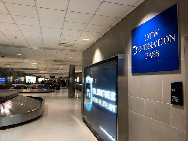 """The """"DTW Destination Pass"""" program allows non-flying guests to head to the Detroit Metro Airport to shop, eat, check out the art, plane spot, people watch, escort a friend or family to their gate or be there when a loved one deplanes."""