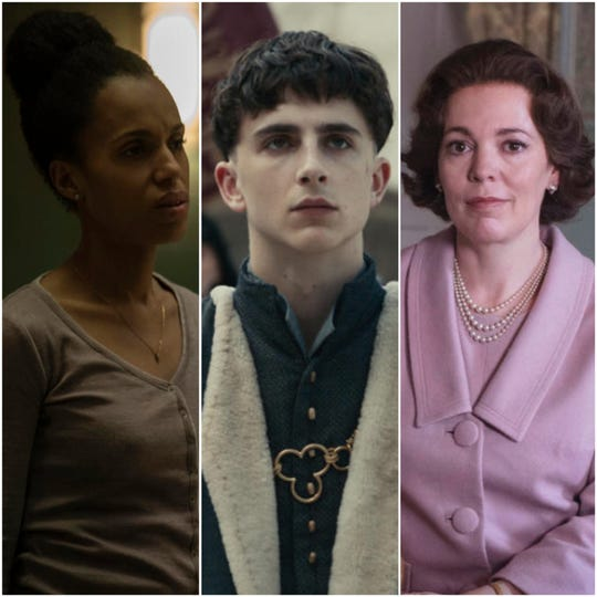 "Kerry Washington stars in ""American Son,"" Timothee Chalamet  stars in ""The King"" and Olivia Colman stars in ""The Crown"" Season 3, which will all be available to stream on Netflix in November."