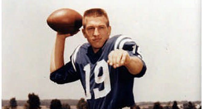 Johnny Unitas won a Super Bowl, was a three-time NFL champ and holds the third longest passing TD streak in NFL history (47 games).