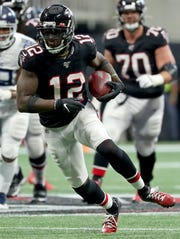 Prior to being traded to New England, WR Mohamed Sanu had split his eight-year career between the Bengals and Falcons.