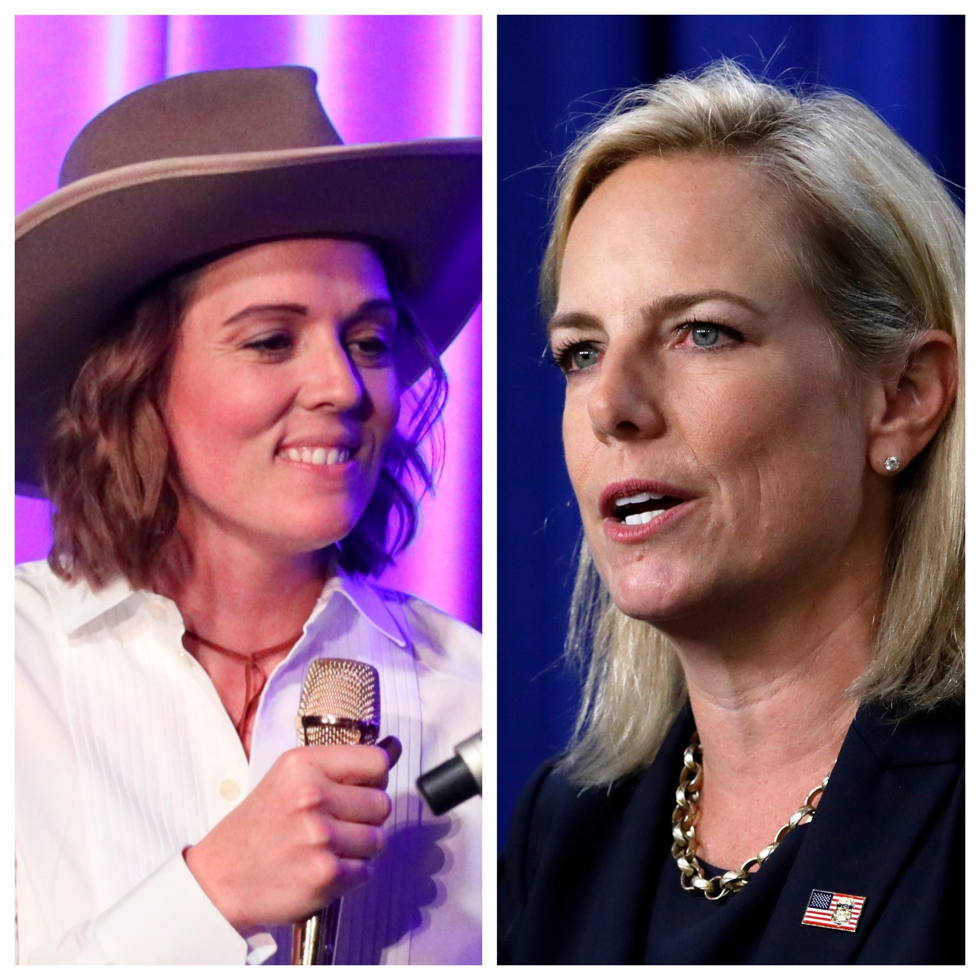 Brandi Carlile boycotts womens summitover former Trump DHS secretary Kirstjen Nielsen
