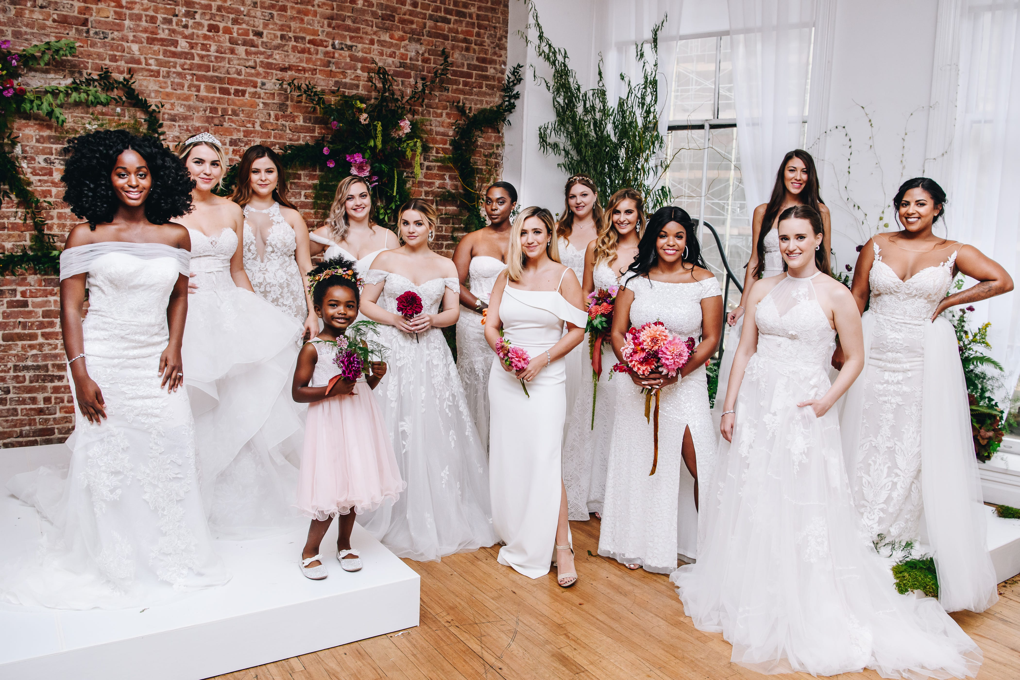 Wedding dress chain David's Bridal wants to remake itself after bankruptcy with 'real brides,' easier returns