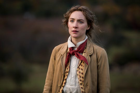 """Jo March (Saoirse Ronan) is the writer among the 19th century March sisters in Greta Gerwig's adaptation of """"Little Women."""""""
