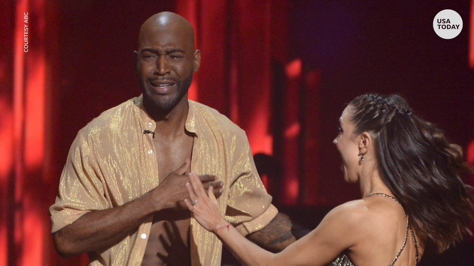 Shocking elimination leaves one Dancing with the Stars contestant in tears
