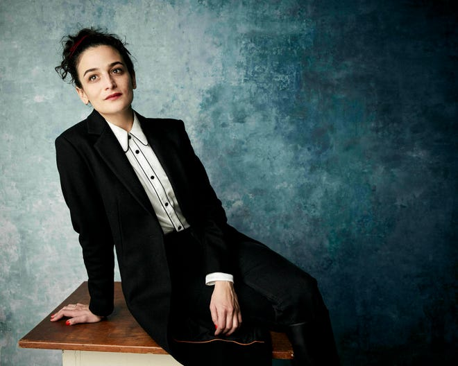 "Jenny Slate, who's now a fiancee, writes tenderly and humorously about searching for love in her book ""Little Weirds."""