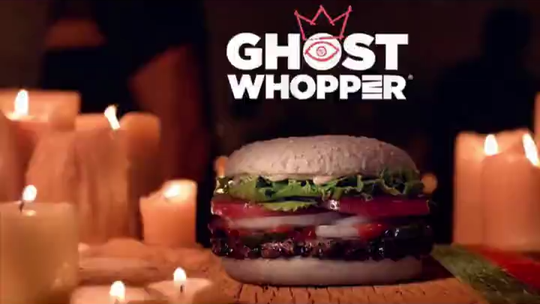 Burger King will sell a Ghost Whopper, and here's where to find it