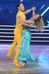 Sasha Barber and singer Ally Brooke work it on Week 6.