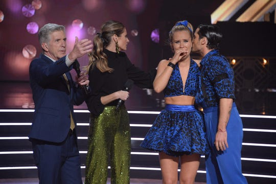 The tears fell Monday night, especially when Sailor Brinkley-Cook was the surprising elimination after a superlative performance.