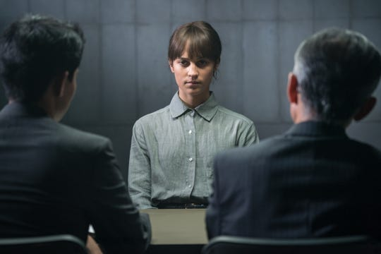 "Alicia Vikander stars in the mysterious move ""The Earthquake Bird,"" based on the novel."