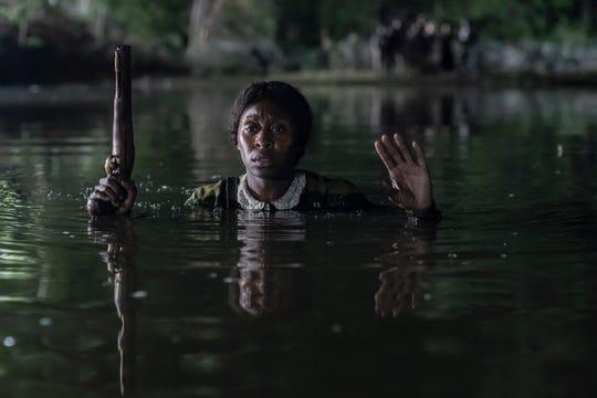 "Cynthia Erivo stars as abolitionist Harriet Tubman in the biopic ""Harriet."""