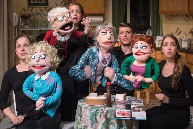 """That Golden Girls Show: A Puppet Parody"" visits the Fox Cities Performing Arts Center in Appleton on Nov. 1."