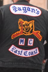 Pagan's Motorcycle Club patches