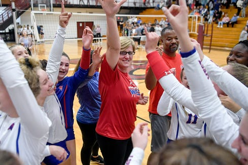 West Henderson downed Marvin Ridge in five sets and Brevard defeated Patton 3-1 on Saturday to advance to their respective regional finals.