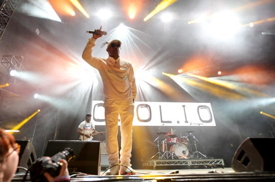 The Coolio set during Groovin The Moo 2019 on April 28, 2019 in Canberra, Australia.
