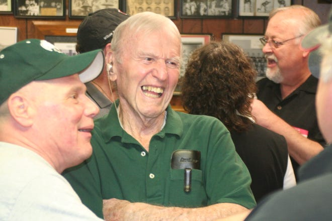 Hall of Fame Galesburg-Augusta football coach Bill Maskill died Tuesday at 96.