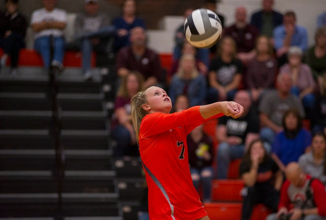 Galion's Kayla Hardy was selected second team All-Ohio in 2019.