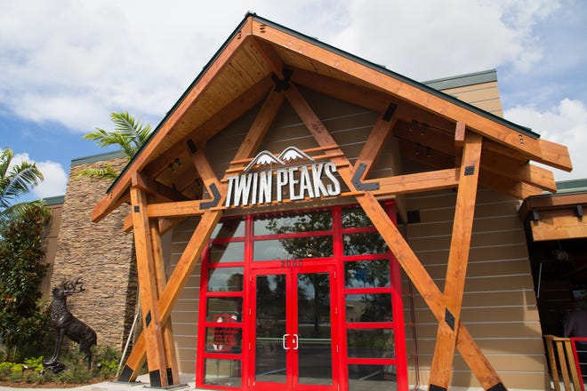 The exterior of a Twin Peaks Restaurant. One is coming to West Chester