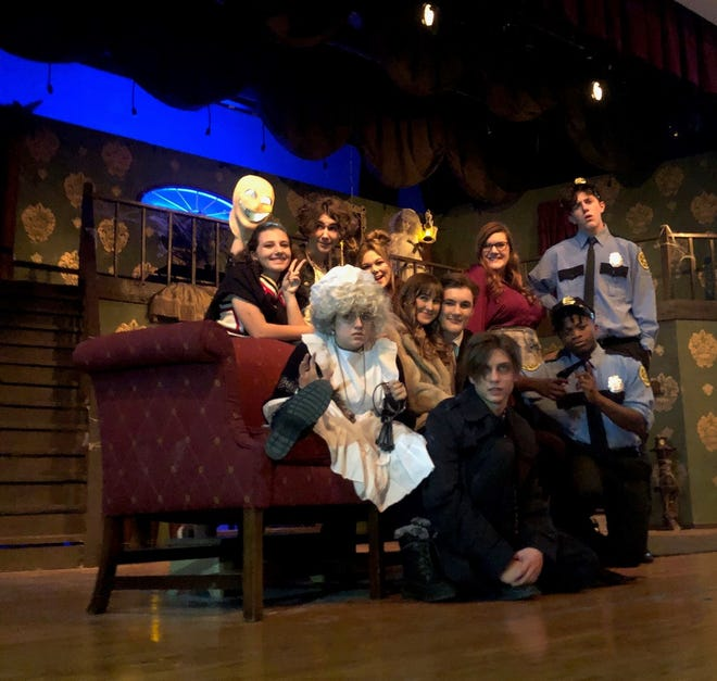 """The Rossview Playhouse presents """"Honeymoon at Graveside Manor""""by Pat Cook."""