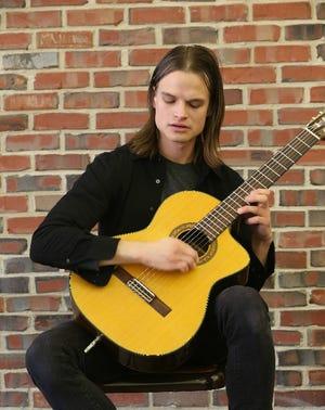 Gladius, a classical/Flamenco guitarist, will perform at 3 p.m. on Sunday, Nov.3, at Bernardsville Public Library.