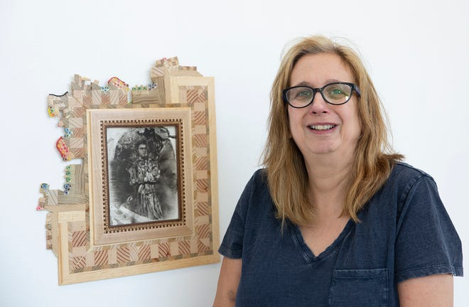 """Middlesex County College Art Professor N.V. Heller will present """"The Darkest Room,"""" an exhibition of her work fromMonday, Nov.4, through Thursday, Dec.5, in the Studio Theater Gallery on the college's main campus in Edison."""
