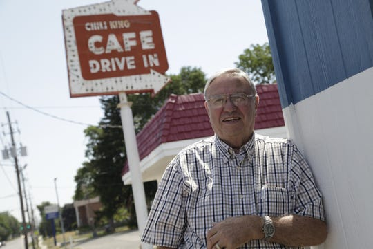 From 2012: George Karaidos of Clive has owned George the Chili King since he was 19-years-old.