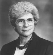 Jo Ann McIntosh Zimmerman was the 42nd lieutenant governor of Iowa.