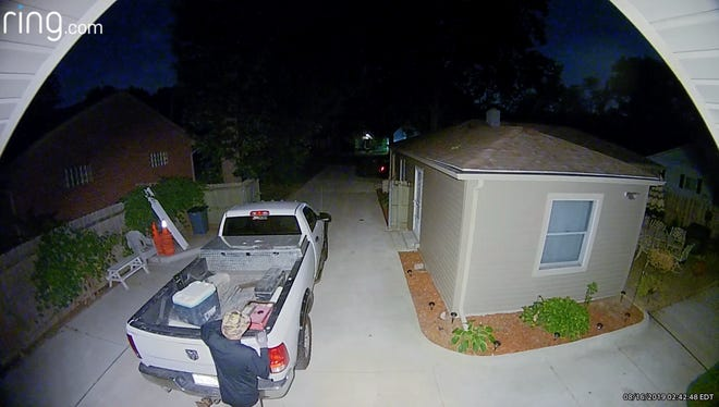 Ring's doorbell camera footage shows 60-year-old Jeffrey Couch rummaging through a pickup. Couch pleaded no contest to two attempted larceny charges and was sentenced to 30 days in jail.