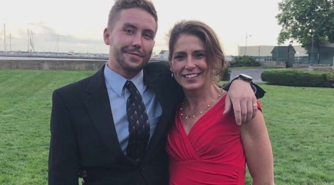 Adrienne Quintal and her son, Nick White