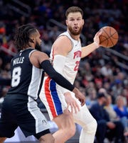 Pistons forward Blake Griffin will miss the first 8-10 games of the season.
