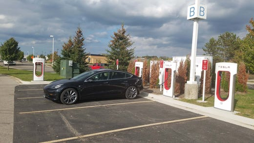 Tesla road trips can be challenge for EV charging, ownership