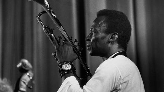 "A still from ""Miles Davis: Birth of the Cool"" by Stanley Nelson."