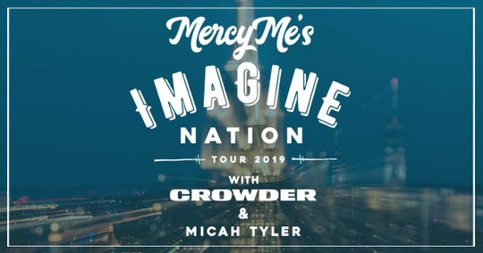 MercyMe is coming back to Evansville's Ford Center with special guest Crowder.
