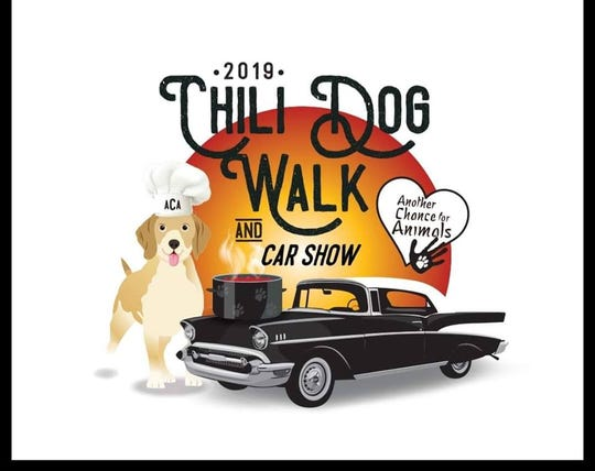 The Chili Dog Walk is a fundraiser for Another Chance for Animals and features a car show, chili and more.