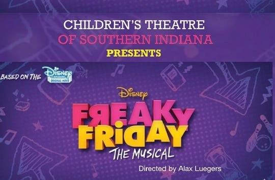 Children's Theatre of Southern Indiana is bringing Freak Friday the Musical to the stage this weekend.